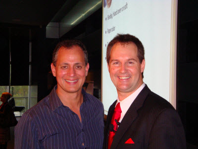 "Mark Buhagiar and Darren Stephens at ""How To Write a Best Seller"""